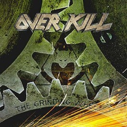 OVERKILL - The Grinding Wheel Yellow/black (LP)