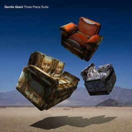 GENTLE GIANT - Three Piece Suite (Cd+bluray) (Blu-Ray + CD)