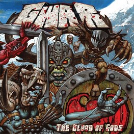GWAR - Blood Of Gods (Limited Clear / White / Blue Swirl Coloured Vinyl) (2LP)