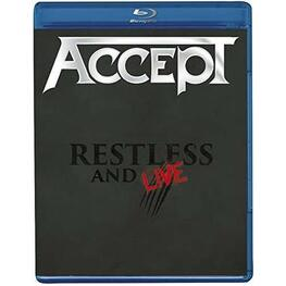 ACCEPT - Restless & Live (Amaray) (Blu-Ray)