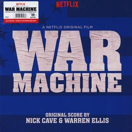 SOUNDTRACK, NICK CAVE & WARREN ELLIS - War Machine: Original Score (Limited Red Coloured Vinyl) (2LP)