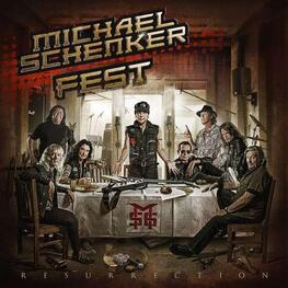 MICHAEL -FEST- SCHENKER - Resurrection -digi- (CD+DVD)