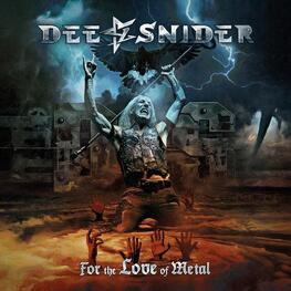 DEE SNIDER - For The Love Of Metal (Black Gatefold Vinyl) (LP)