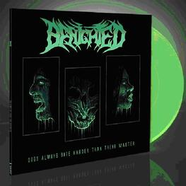 BENIGHTED - Dogs Always Bite Harder Than Their Master (Glow In The Dark Vinyl In Gatefold Sleeve) (LP)