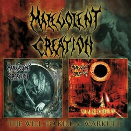 MALEVOLENT CREATION - Will To Kill, The / Warkult (CD)