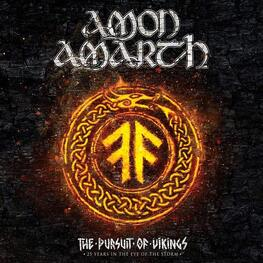 AMON AMARTH - Pursuit Of Vikings: 25 Years In The Eye Of The Storm (Blu-Ray)