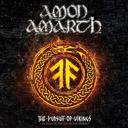 AMON AMARTH - Pursuit Of Vikings: 25 Years In The Eye Of The Storm (2 DVD + CD)