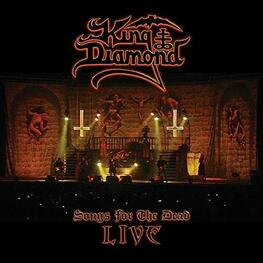 KING DIAMOND - Songs For The Dead Live (Limited Transparent Blue With White Splatter Coloured Vinyl) (2LP)