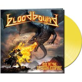 BLOODBOUND - Rise Of The Dragon Empire (Ltd. Gtf. Yellow Vinyl) (LP)