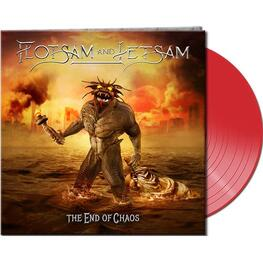 FLOTSAM AND JETSAM, FLOTSAM & JETSAM - The End Of Chaos (Ltd. Gtf. Clear Red Vinyl) (LP)