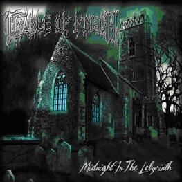 CRADLE OF FILTH - Midnight In The Labyrinth (2lp Wide Spine Vinyl) (2LP)