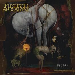 FLESHGOD APOCALYPSE - Veleno (Limited Gold Coloured Vinyl With Black Splatter) (2LP)