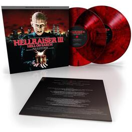 SOUNDTRACK, RANDY MILLER - Hellraiser Iii Hell On Earth: Original Motion Picture Soundtrack (Blood Red & Black Smoke Coloured Vinyl) (2LP)
