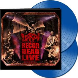 LORDI - Recordead Live - Sextourcism In Z7 (Ltd Gatefold Blue Vinyl) (2LP)