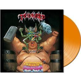 TANKARD - B-day (Ltd Clear Orange Vinyl) (LP)