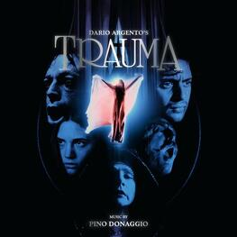 SOUNDTRACK, PINO DONAGGIO - Trauma: Original Motion Picture Soundtrack (Limited Red Coloured Vinyl) (2LP)