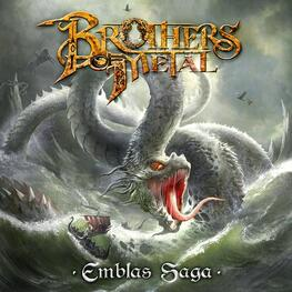 BROTHERS OF METAL - Emblas Saga (Digipak) (CD)
