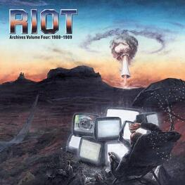 RIOT - Archives Volume 4: 1988-1989 (2lp Coloured Vinyl In Gatefold Sleeve) (2LP)