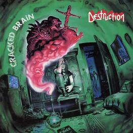 DESTRUCTION - Cracked Brain (Green Vinyl + Poster) (LP)