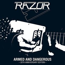 RAZOR - Armed And Dangerous (Slipcase) (CD)