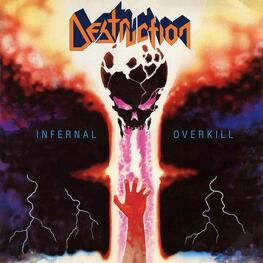 DESTRUCTION - Infernal Overkill (Blue Vinyl + Poster) (LP)