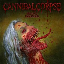 CANNIBAL CORPSE - Violence Unimagined (Blood Red Marbled Vinyl) (LP)