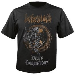 BEHEMOTH - DEVIL'S CONQUISTADORS T-SHIRT (BLACK)
