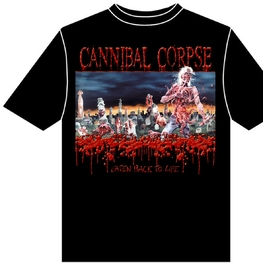 CANNIBAL CORPSE - EATEN BACK TO LIFE UNISEX T-SHIRT (BLACK)