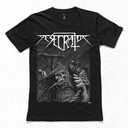 TO THE GALLOWS T-SHIRT (BLACK)