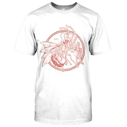 SPIDERWASP ARTWORK T-SHIRT - WHITE