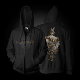 MARK OF THE BLADE HOODED ZIP SWEATSHIRT (BLACK)