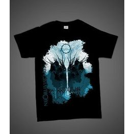 Ne Obliviscaris Crows Artwork T-Shirt (Black)