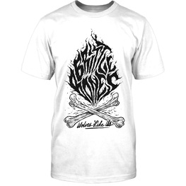 WOLVES LIKE US - Brittle Bones Crossbone T-shirt (White)