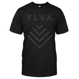 YLVA - ARROWS T-SHIRT (BLACK)