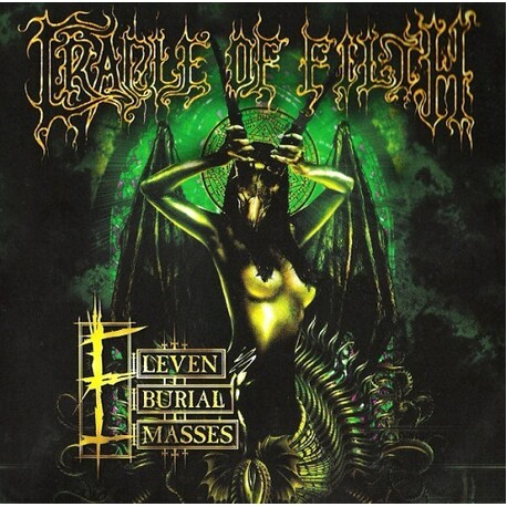 CRADLE OF FILTH - Eleven Burial Masses (CD+DVD)