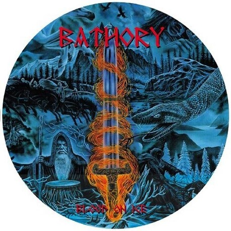 BATHORY - Blood On Ice (Pic Disc Collectors Edition/hard Cover) (LP)