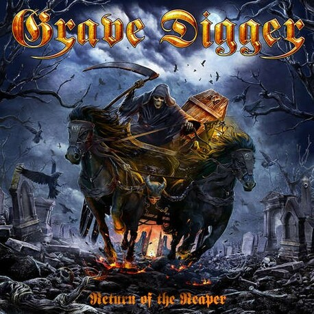 GRAVE DIGGER - Return Of The Reaper (CD)