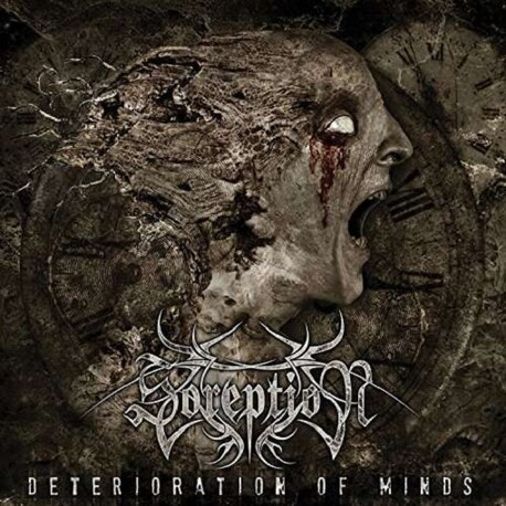 SOREPTION - Deterioratiion Of Minds (CD)