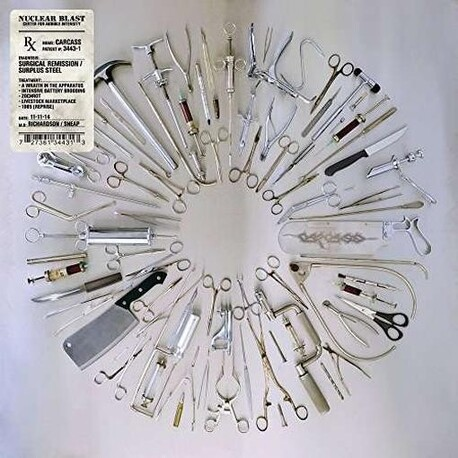 CARCASS - Surgical Remission / Surplus Steel (Ep) (CDEP)