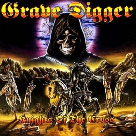 GRAVE DIGGER - Knights Of The Cross (Cvnl) (Ltd) (180g) (2LP (180g))