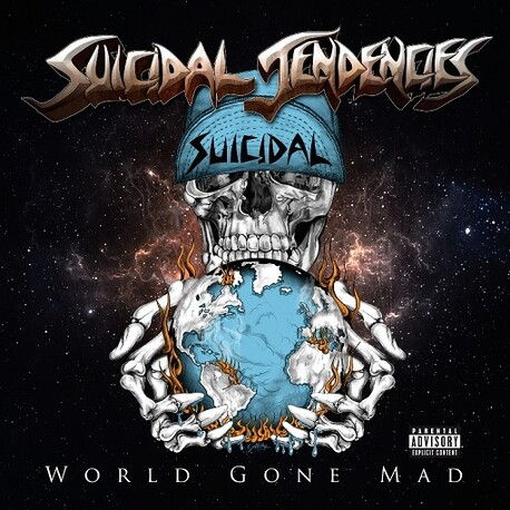 SUICIDAL TENDENCIES - World Gone Mad (Limited Blue Vinyl) (2LP)