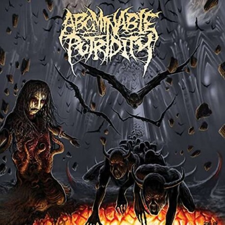 ABOMINABLE PUTRIDITY - In The End Of Human Existence (Vinyl + Download Card) (LP)