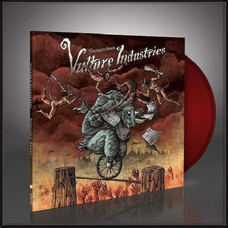 VULTURE INDUSTRIES - Stranger Times (Ltd Transparent Blood Red Vinyl) (LP)