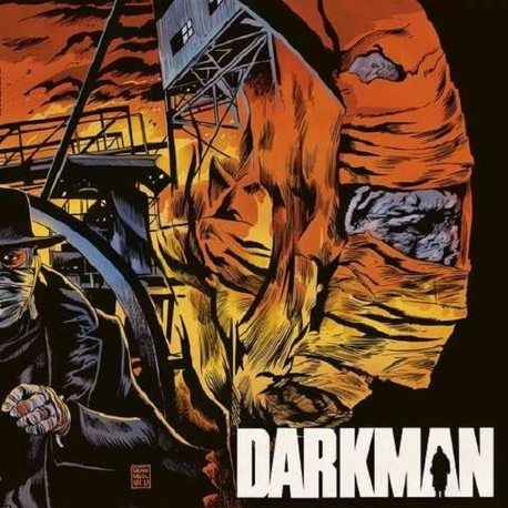 SOUNDTRACK, DANNY ELFMAN - Darkman: Original Motion Picture Score (Limited Fire Coloured Vinyl) (LP)