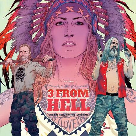 SOUNDTRACK, ROB ZOMBIE - 3 From Hell: Original Motion Picture Soundtrack (Limited Coloured Vinyl) (2LP)
